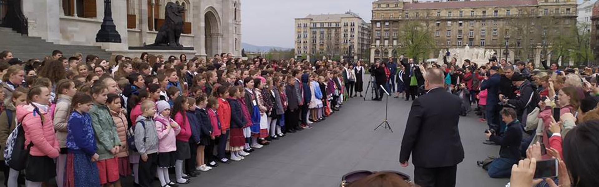 Éneklő diákok sikere